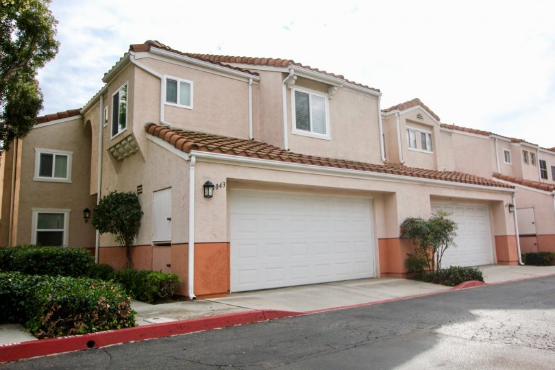 A home in the Vista Del Verde community in Santee California.