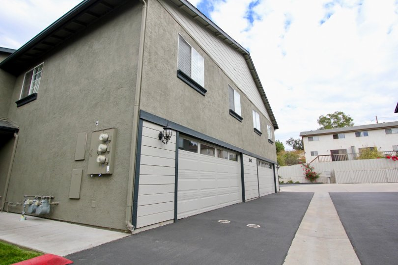 Agua Dulce Terrace grey two-story with garage Spring Valley California