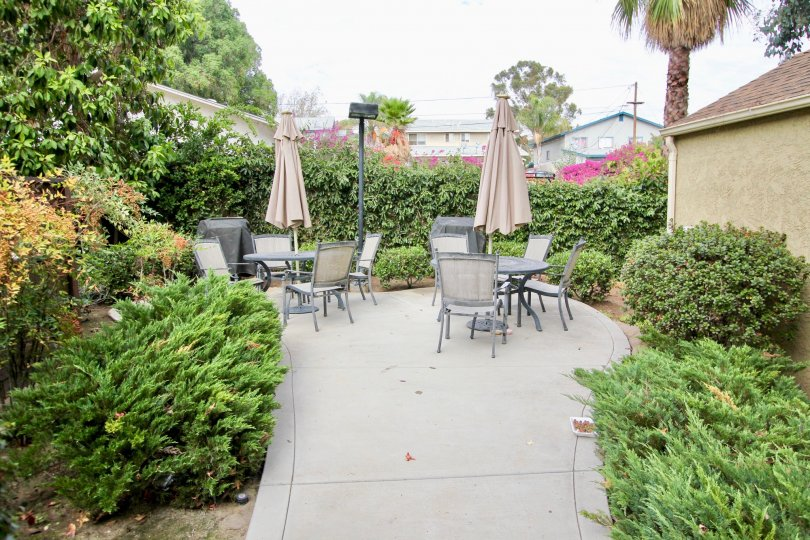 Canyon VIllas in Spring Valley, CA, with a nice outdoor seating area