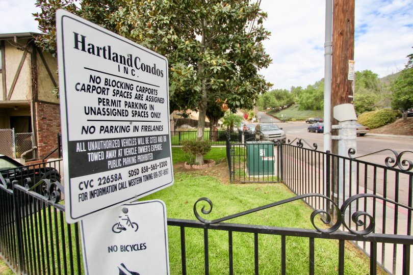 Beautiful Entrance for Hartland Condos Inc in Spring Valley City