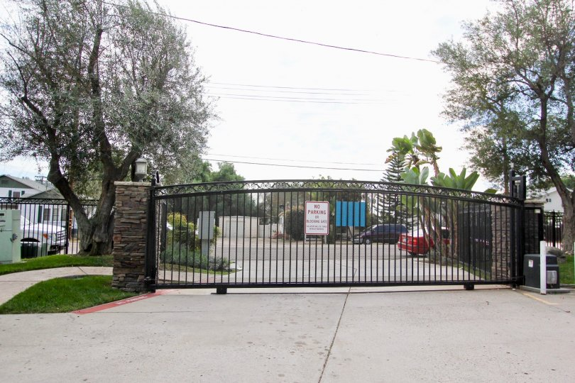 Lamar Square  ,Spring Valley  , California,big gate