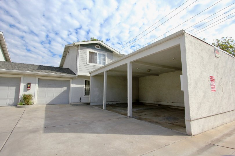 Lamar Townhomes  ,: Spring Valley  ,California,cloudy sky,garage