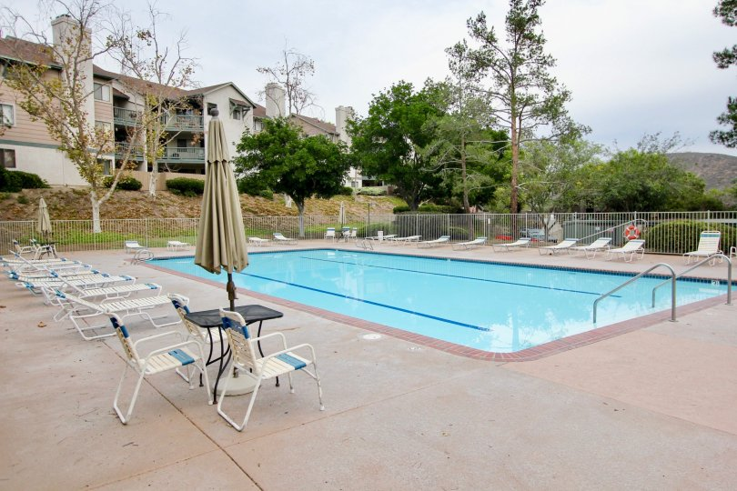 Condo Propertie community swimming pool, spa and tennis courts which is located directly across from the unit... just steps away