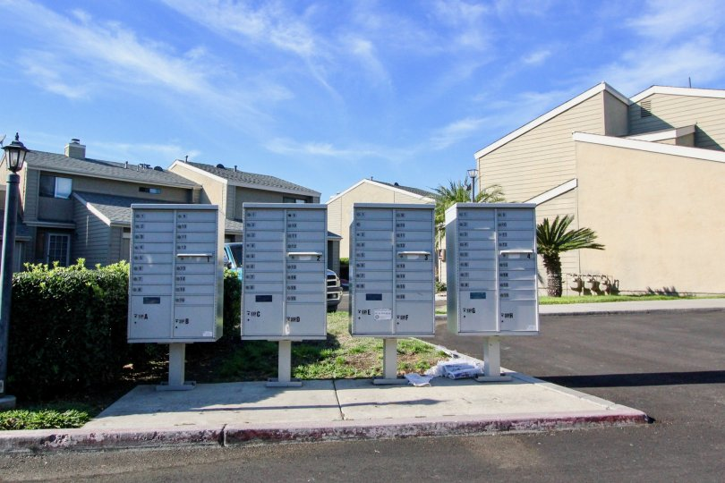 At Bridgecreek, Residents mailboxes are in close proximity to their units