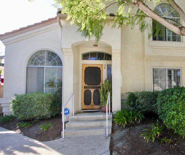 Charlemont , Vista, California, white house, plants
