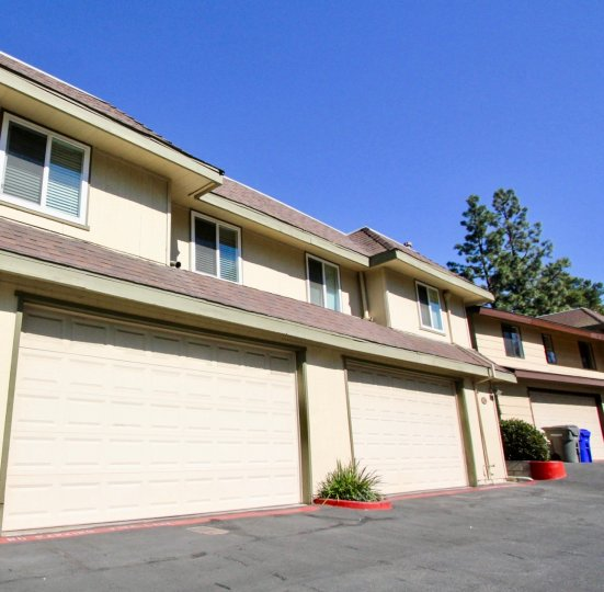 Lots of garage space to store the extras when you live at Marlin Terrace in Vista, CA