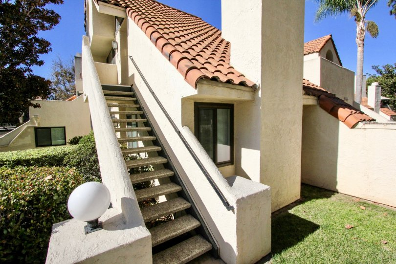 Beautiful stucco and terra cotta residence at Melrose Park in Vista, CA