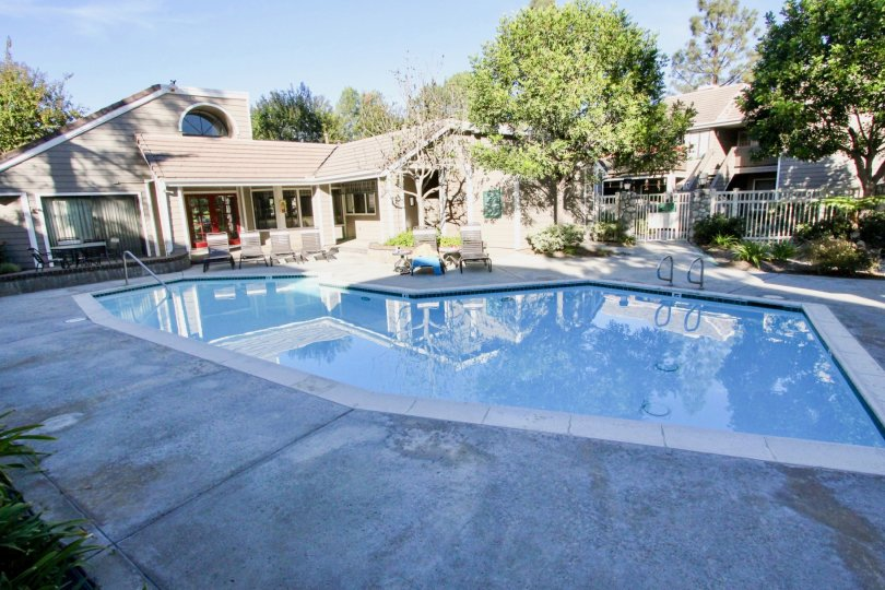 Pool and privacy is yours at Community Shadowridge Aspens in Vista, CA