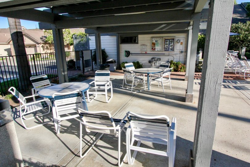 Lots of space for a pool party when you are at the Sunrise in Vista, CA