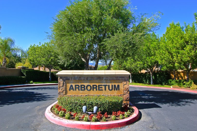 Arboretum is a gated community in Murrieta CA