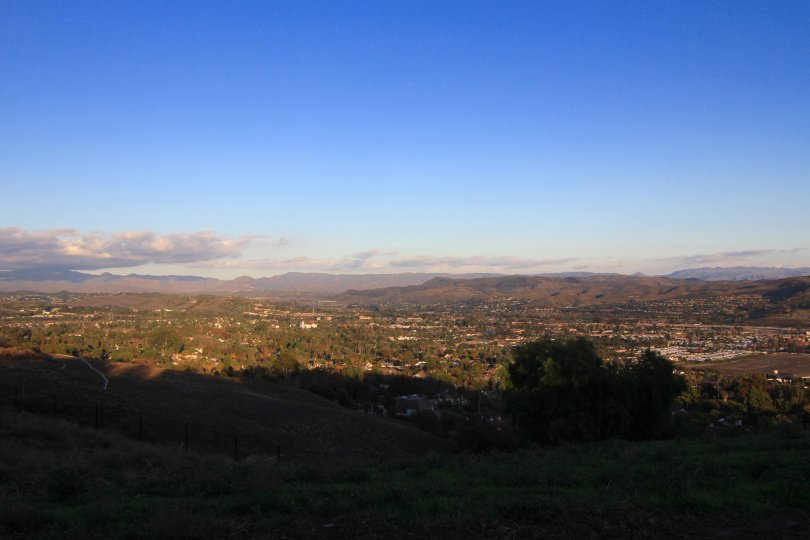 Mountain view from the community of Bear Brand Ranch, Laguna Niguel CA