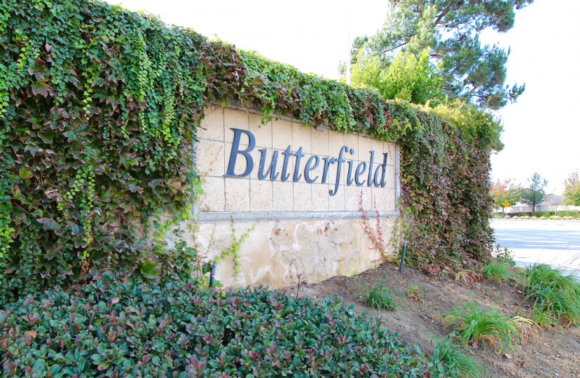 Butterfield Community Marquee located in Winchester California