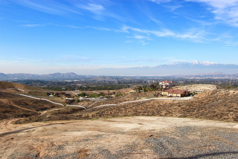 Canyon Ridge offers residents an impressive view of the valley below