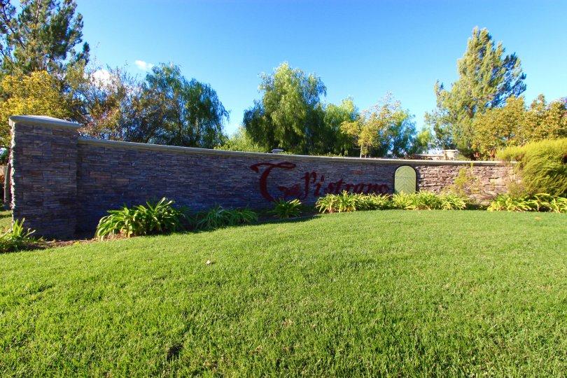Capistrano Community Marquee located in Winchester California