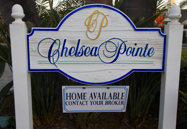 Chelsea Pointe Community Marquee in Dana Point Ca