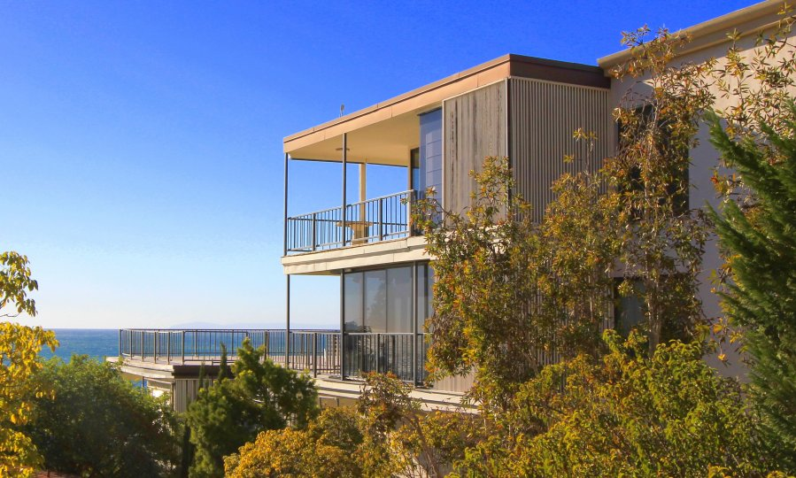 Custom home in Coast Royale Laguna Beach with view of the ocean