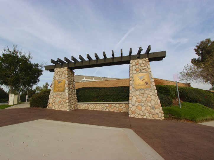 Eagle Glen Community Marquee located in Corona Ca