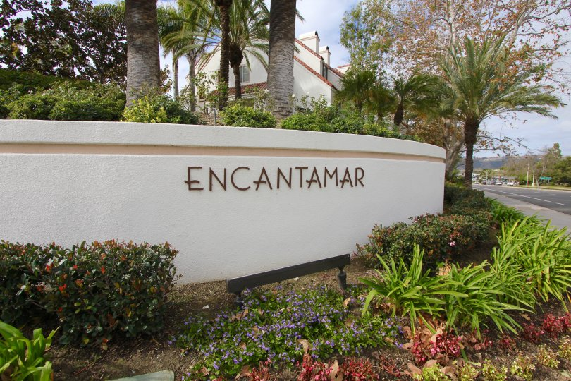 Encantamar Community Marquee located in Dana Point Ca