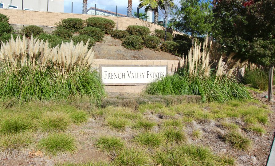 French Valley Estates Marquee located in Winchester California