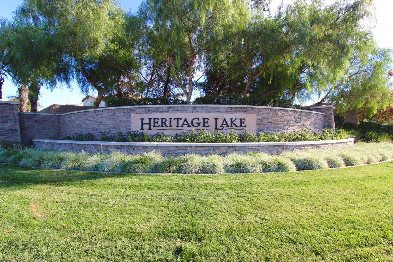 Heritage Lake Community Marquee in Menifee Ca