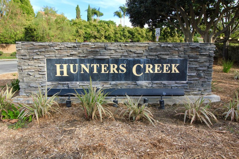 Hunters Creek Community Marquee