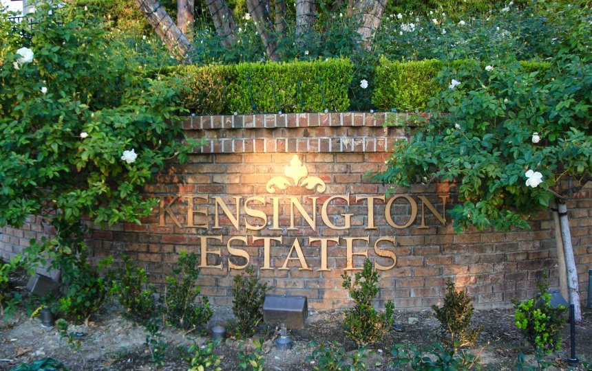 Kensington Estates Entrance in Aliso Viejo