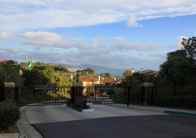 Lantern Bay Estates is a guard gated community in Dana Point