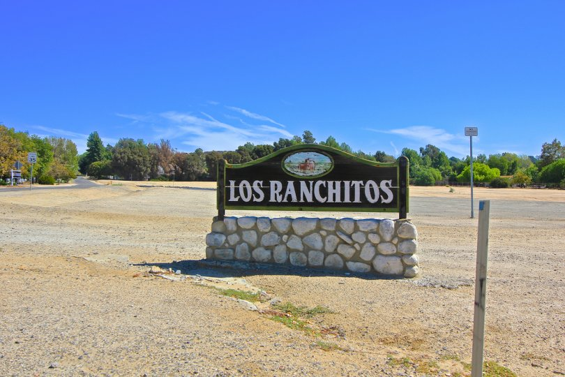 Los Ranchitos Community Marquee in Temecula Ca