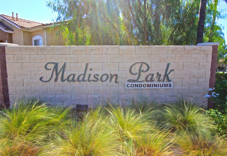 Entrance to Madison Park in Murrieta Ca