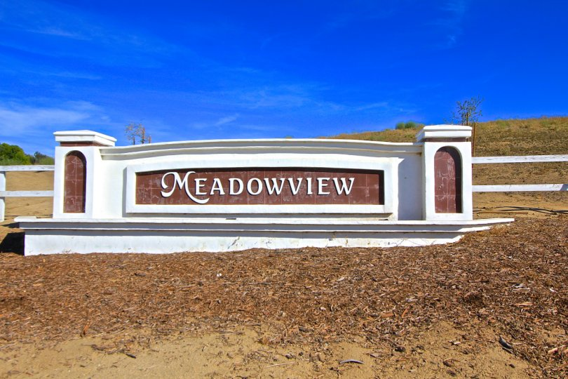 Meadowview Community Marquee in Temecula Ca