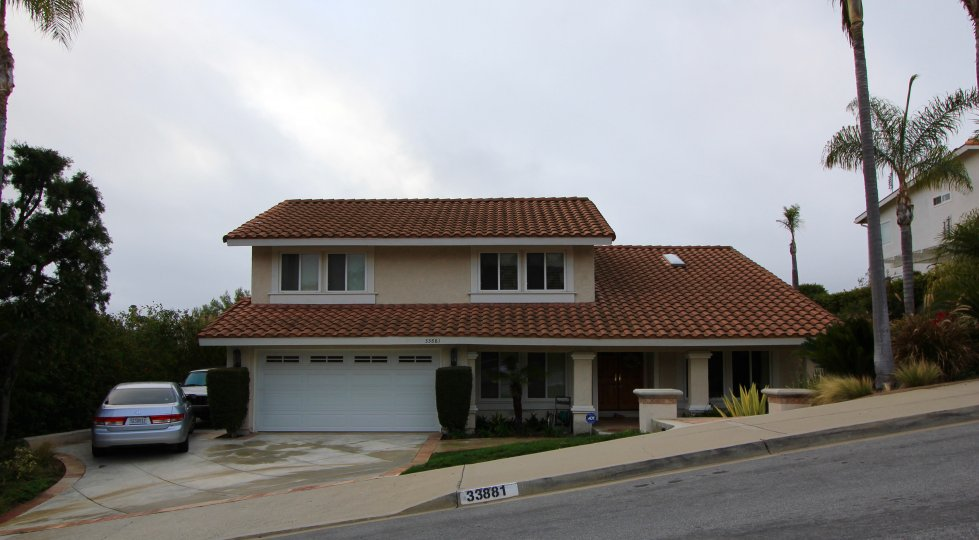 A two story home located within the Meredith Canyon neighborhood