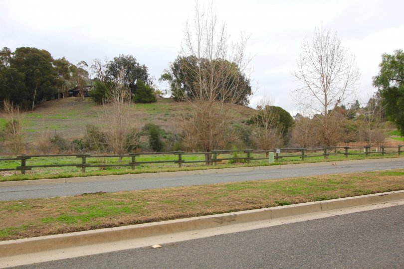 Miles of walking paths exist within the Mission Hills Ranch neighborhood