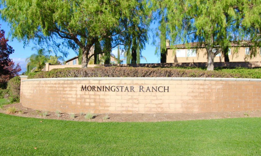 Morningstar Ranch Community Marquee in Winchester California