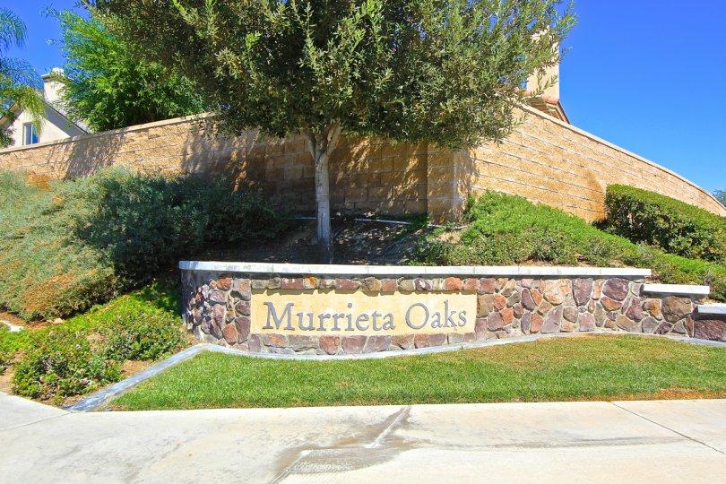 Murrieta Oaks is a community in Murrieta CA