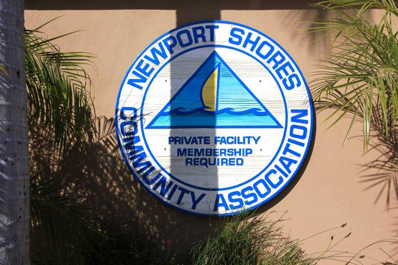 Association maruee in Newport Shores, Newport Beach CA