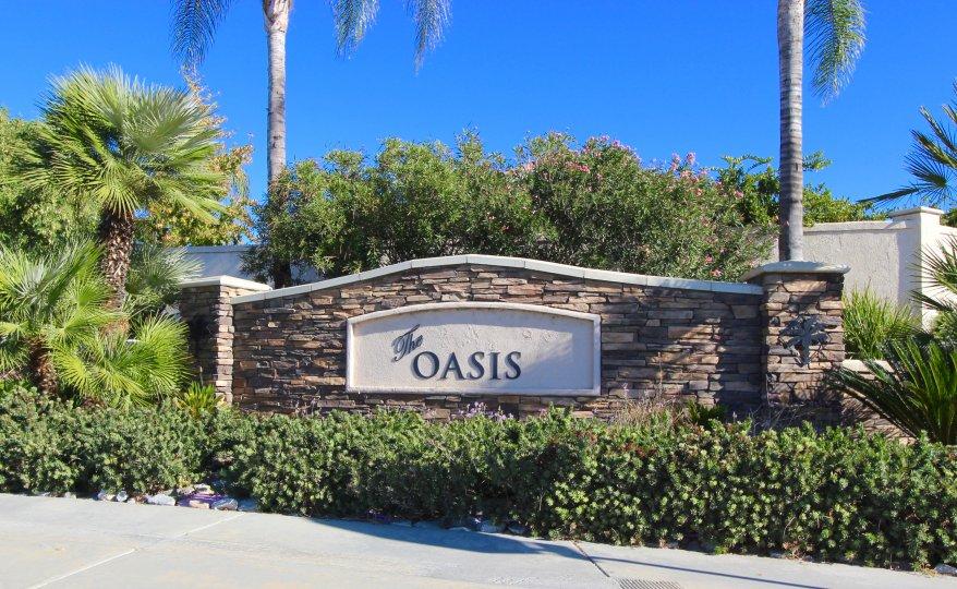 Oasis Community Marquee in Menifee Ca