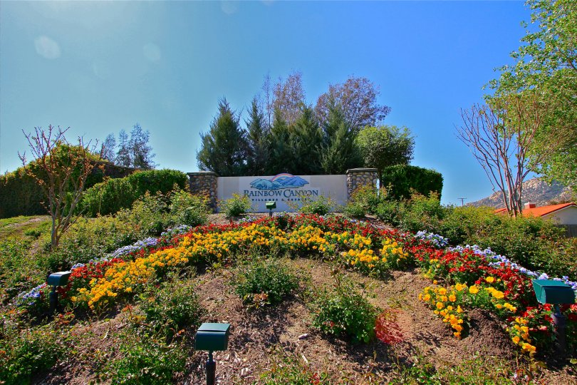 Entrance to Rainbow Canyon in Temecula Ca