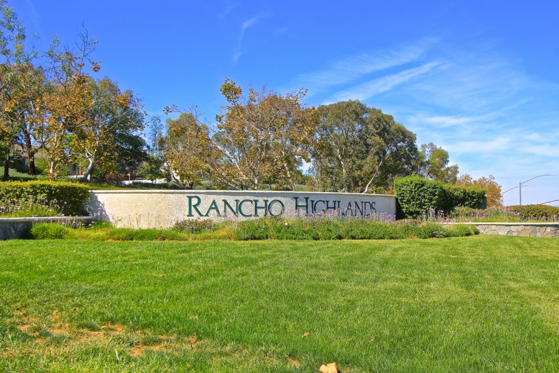 Entrance to Rancho Highlands in Temecula Ca