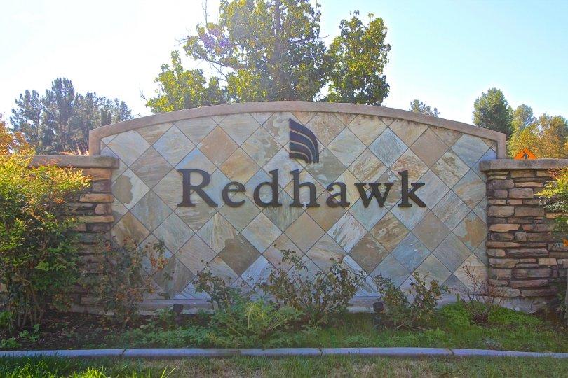 Redhawk Community Marquee in Temecula Ca
