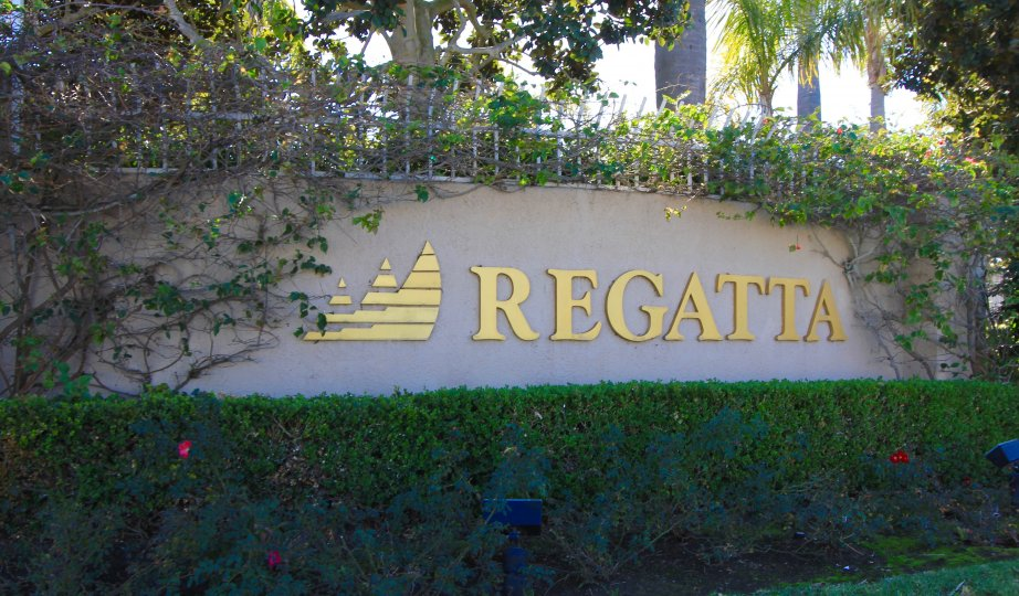 Regatta Community Marquee located in Dana Point Ca