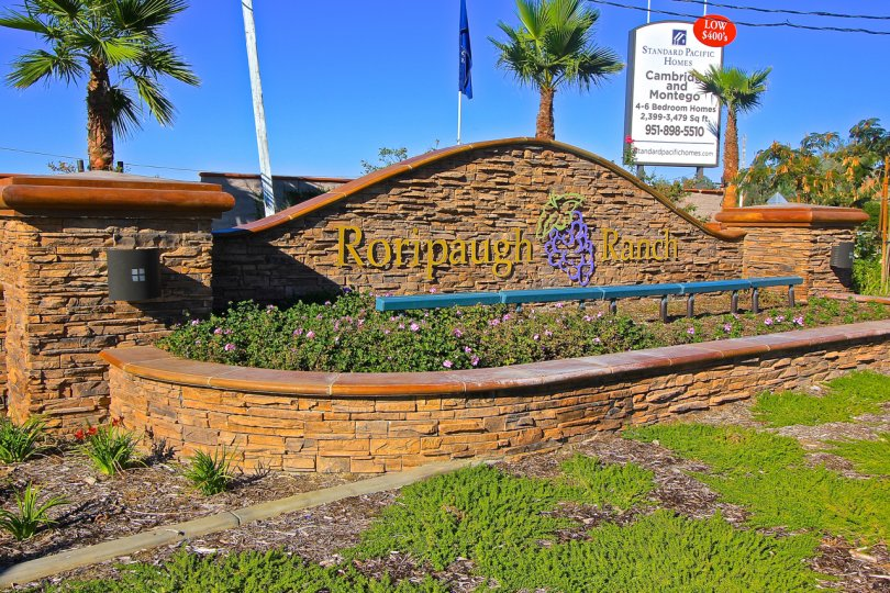 Entrance to Roripaugh Ranch in Temecula Ca