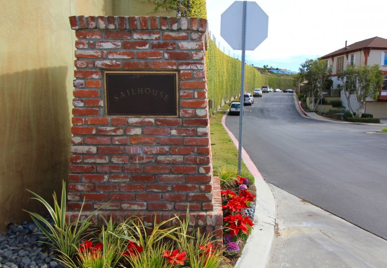 Entrance and marquee to Sailhouse Corona Del Mar CA