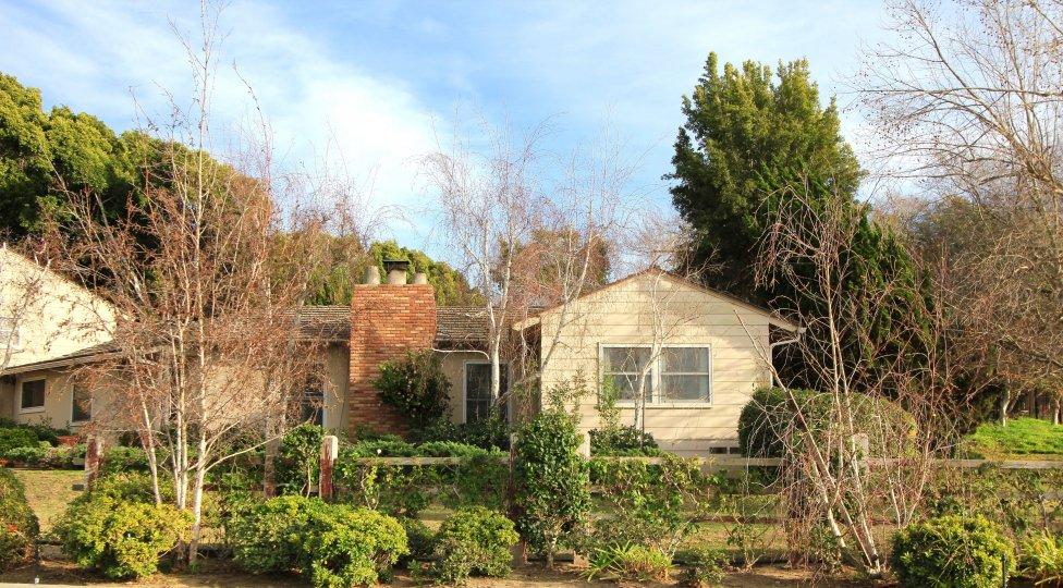 One story home exterior