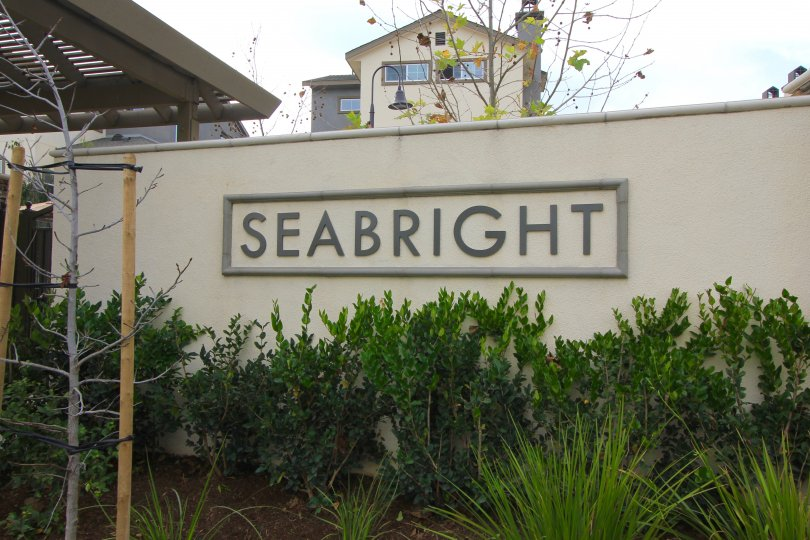 Front entrance and marquee to Seabright
