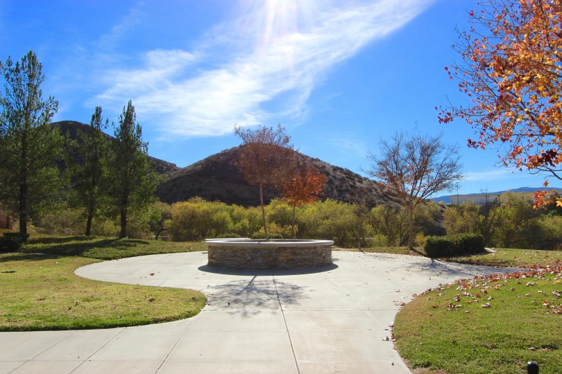 Park and open grass area in Summerhill Lake Elsinore Ca