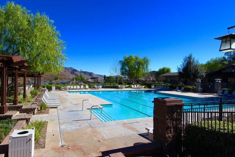 swimming pool in Sycamore Creek Corona