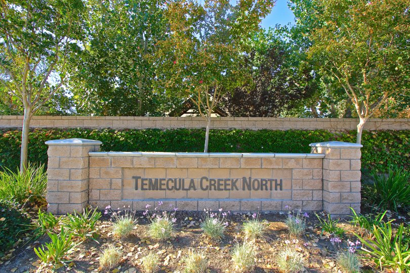 Entrance to Temecula Creek in Temecula Ca