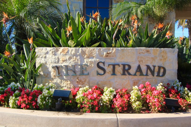 The Strand at Headlands Community Marquee in Dana Point Ca