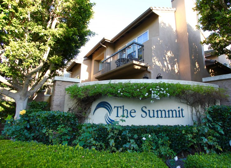 Marquee for The Summit in Newport Coast CA