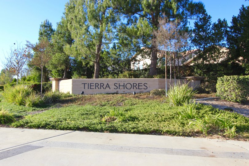 Tierra Shores Community Marquee located in Menifee Ca